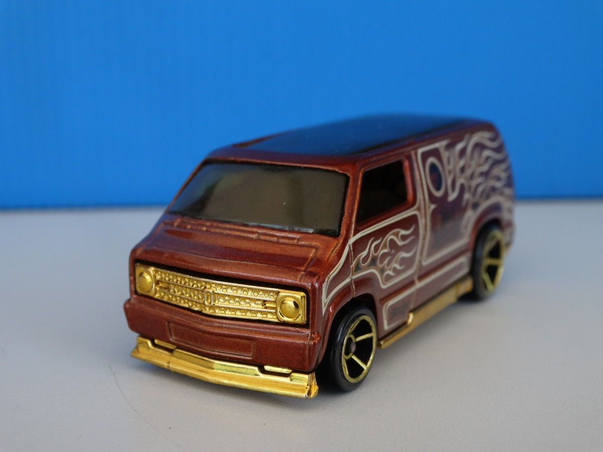 Alherabeto Custom 77 Dodge Van Variacao Hot Wheels 2008 1 64 Loose R 22 00