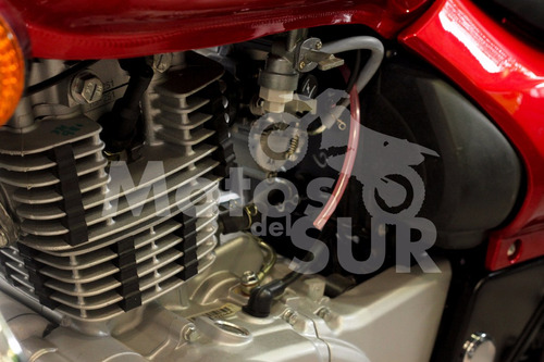 custom avenger 220 2017 0 km motos del sur roja