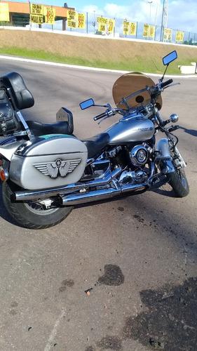 custom drag star 650 equipadíssima banco conforto etc.
