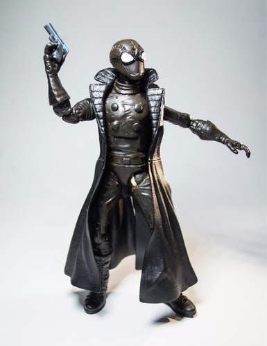 custom spiderman noir (spidernoir) marvel legends figura
