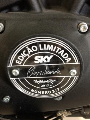 customizada - série limitada - rock in rio/sky/chris miranda