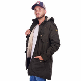 77a322163 Customs Ba Camperas Hombre Parka Corderito Campera Full