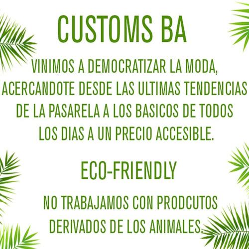 customs ba camperas mujer parka gabardina cuero ec campera