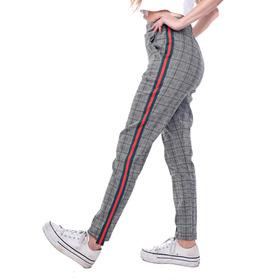 Customs Ba Pantalones Mujer Calza Pantalon Mujer Tiro Alto A