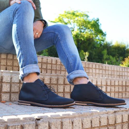 customs ba zapatos hombre botitas vestir botas cuero ec full