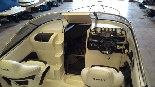 custon 25 day cruiser 225 hp - zanovello barcos -