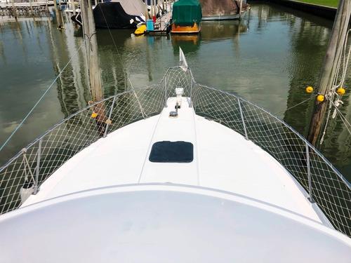 custon 35 - 2010 - 2 nanni 200 hp - mooney embarcaciones