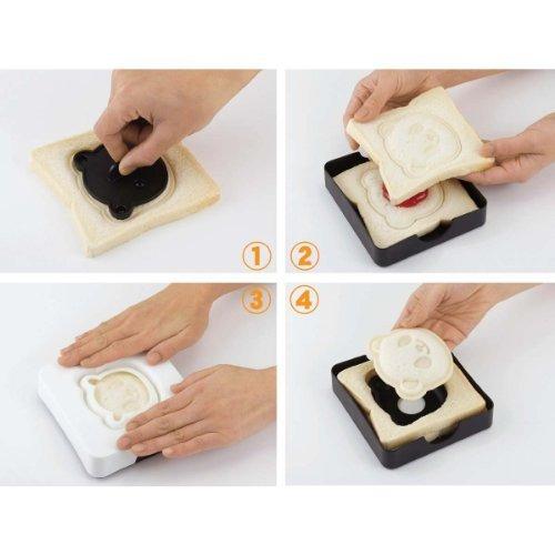 cutezcute panda bolsillo kit de herramientas de sandwich