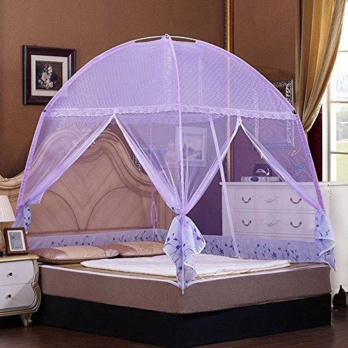 Cuti plegable carpa mosquitera para cama adapta individual Mosquitera para cama