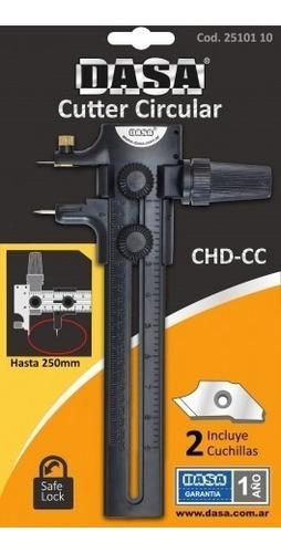 cutter dasa circular dasa compas hasta 25cm corta circulos