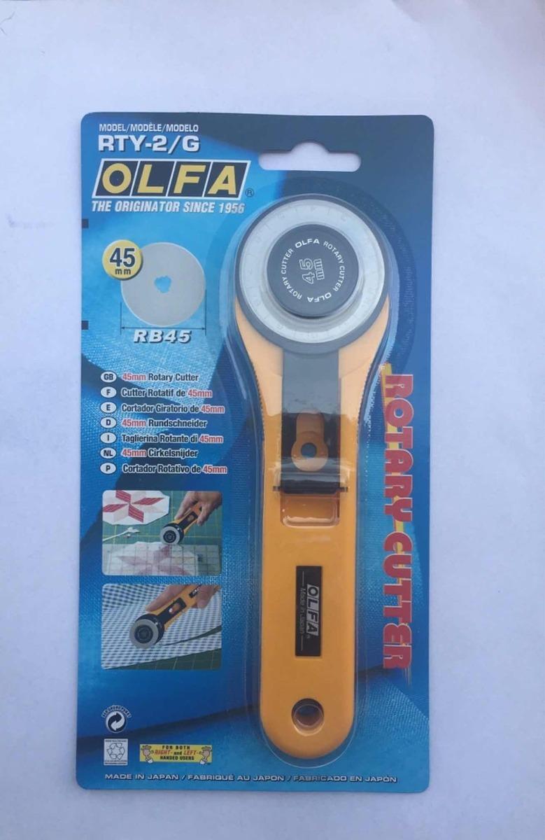 Olfa 45 mm cortador rotatorio Cuchilla de repuesto-cada uno RB45-1