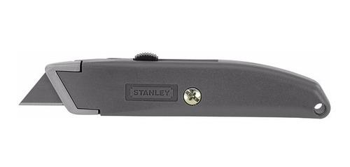cutter trincheta retractil metálico uso general stanley 10-1