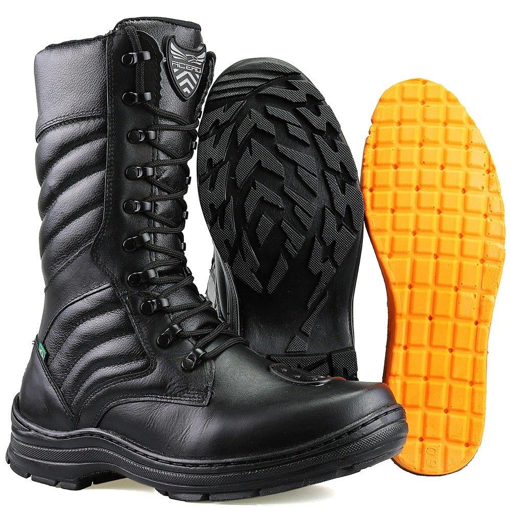 288b66cb29 cuturno masculino bota segurança militar couro dhl calçados. Carregando zoom .
