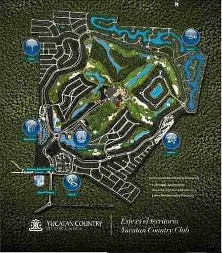 cutzam terrenos en venta yucatan country club
