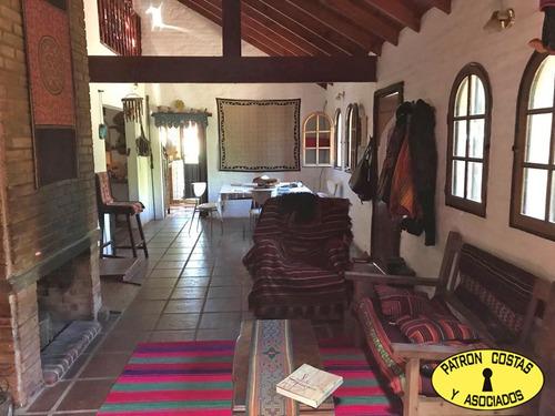 cv-cq-ba-2190-r hermosa casa quinta en el cazador escobar