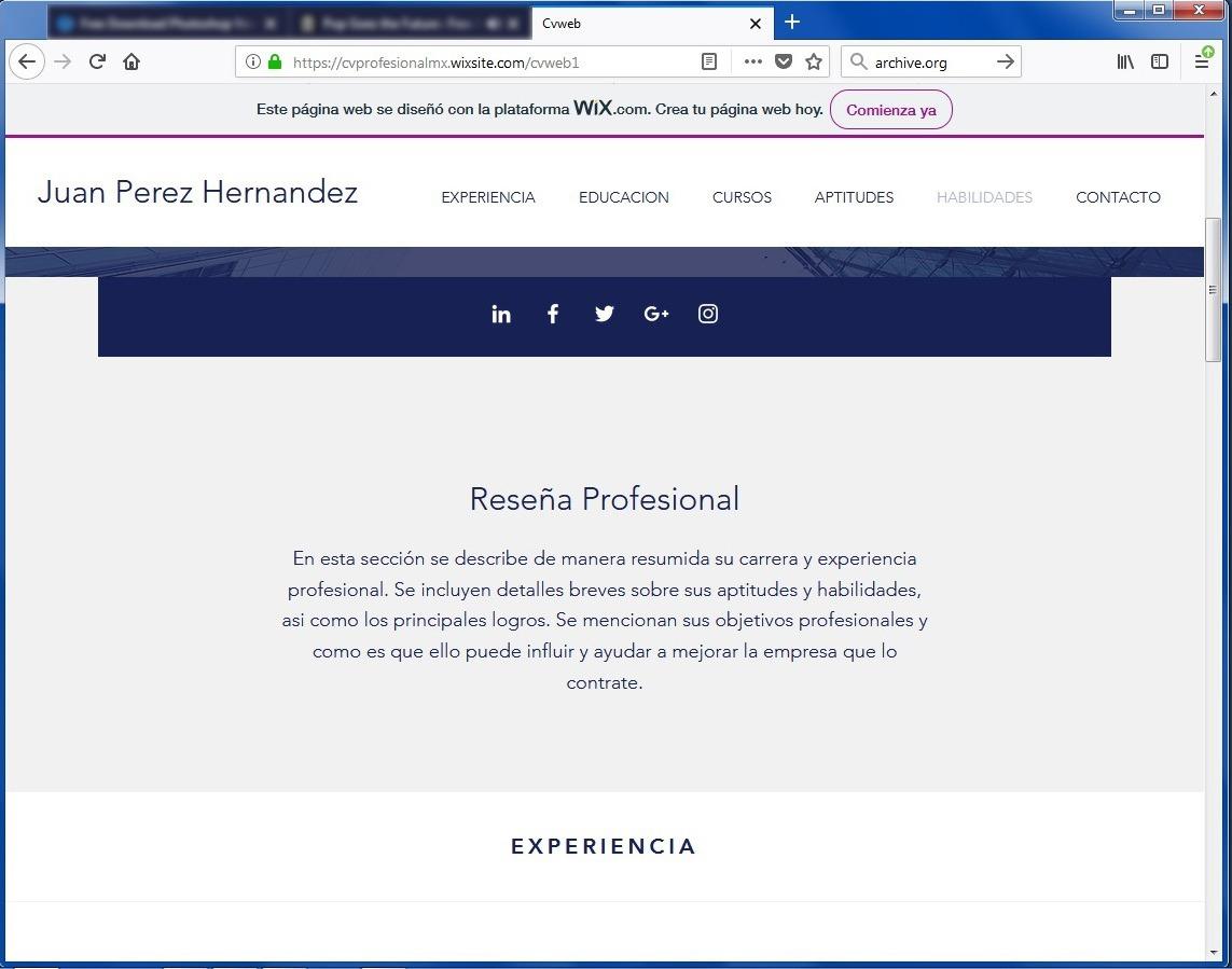 Famoso Mejorar La Redacción Del Cv Galería - Colección De Plantillas ...