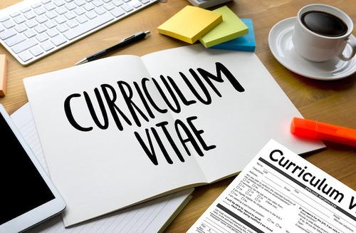 cv: currículum vitae. personal y profesional en 24 hs.