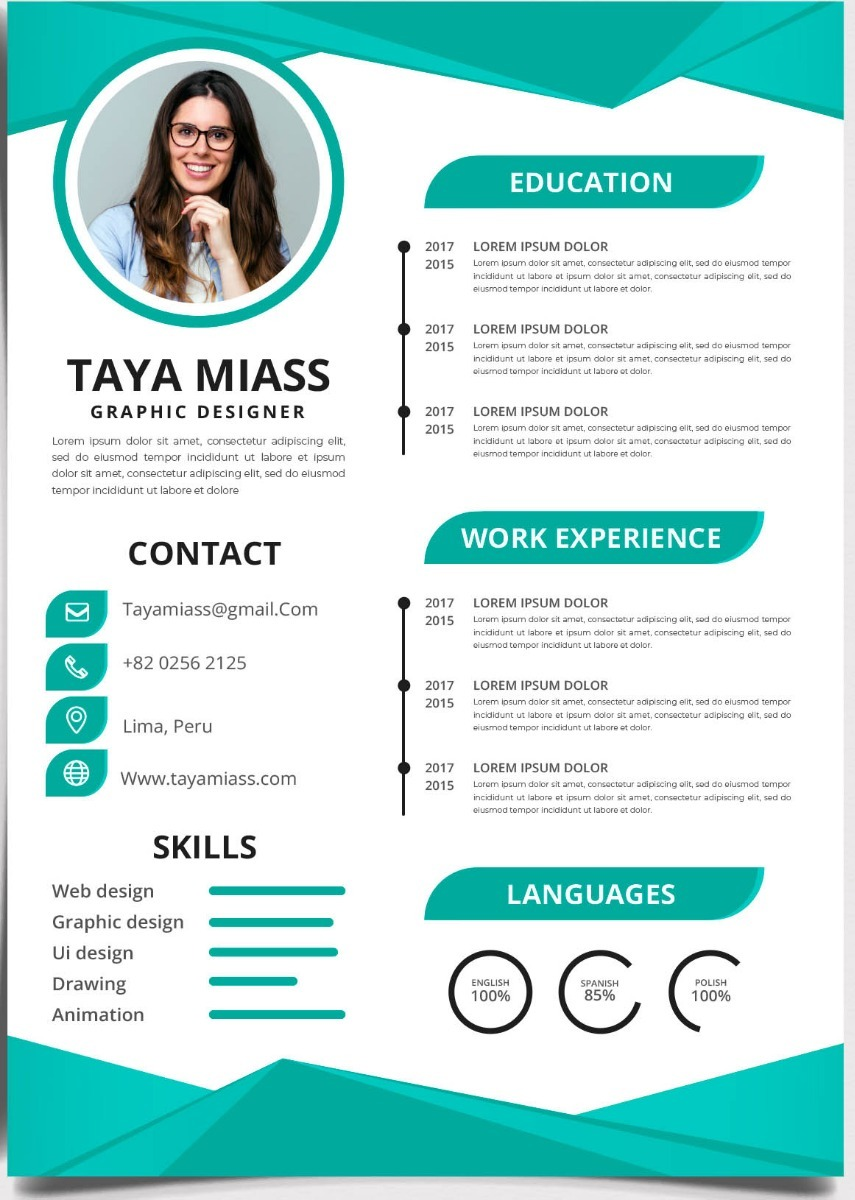 cv curriculum vitae - personalizado  profesional
