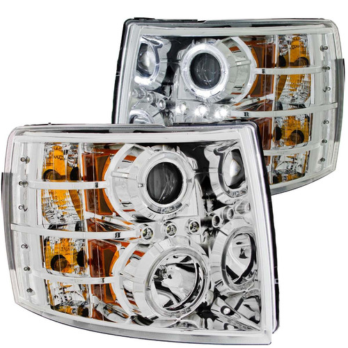 cv silverado 07-up projector h.l chrome
