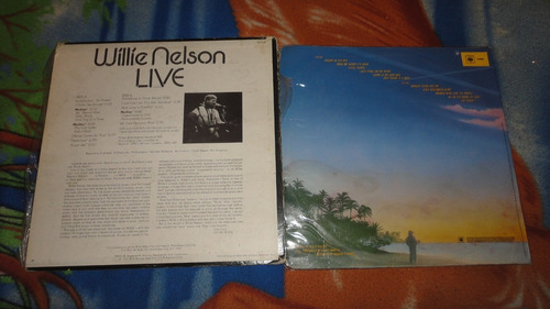 cvendo 2 vinilos de willie nelson     musica country