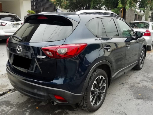 cx-5 s grand touring 2016 de lujo azul