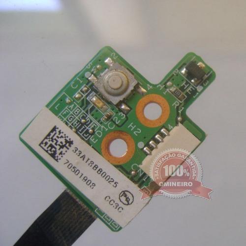 cx18.5  - placa power button on/off notebook hp compaq v6000