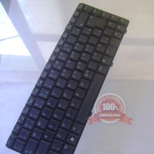 cx18.5 -teclado notebook hp compaq presário v6000 semi-novo