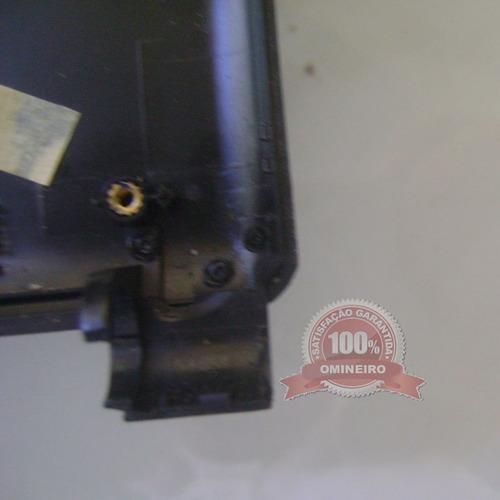 cx27.2 -carcaça tampa do lcd original notebook itautec w7415