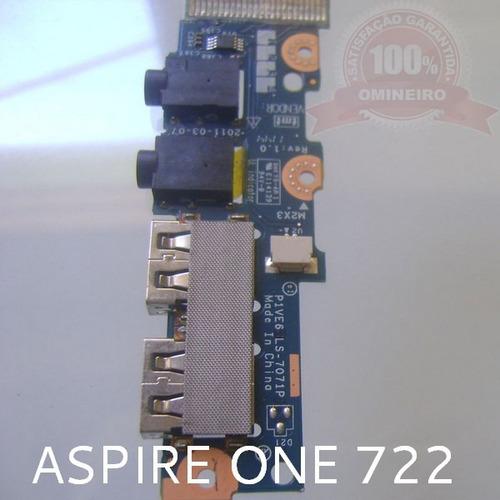 cx29.2 - aspire one - ao722 - placa som / audio