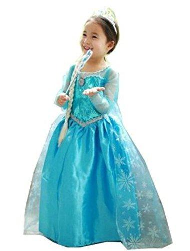 cxfashion elsa vestido de fiesta de navidad de anna bebés d