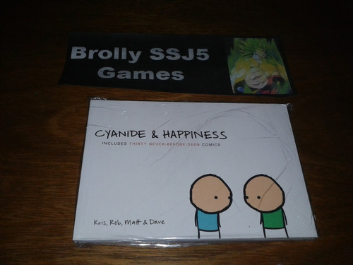 cyanide & happiness comics - livro raro