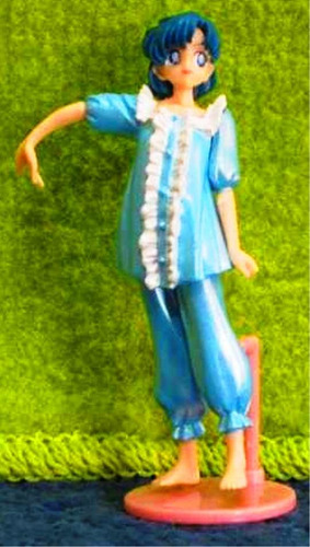cyber day : sailor mercury amy ami mizuno en pijama celeste