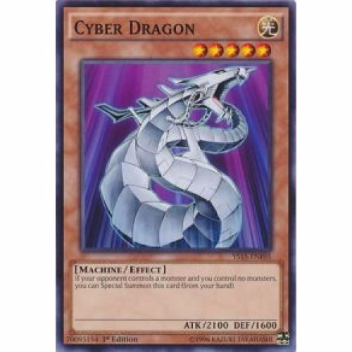 cyber dragon (ys15) (comum - criatura) yugioh