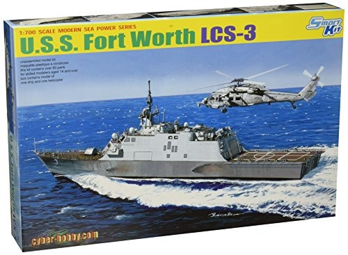 cyber ¿¿hobby models u.s.s. kit de plástico modelo fort