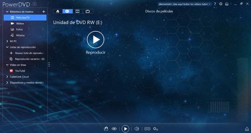 cyberlink power dvd v16 licencia español digital