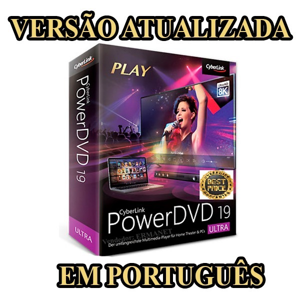 Cyberlink Powerdvd Ultra 19 Em Português - Atualizado 2019