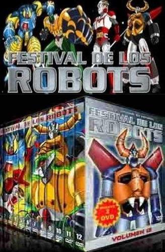 cybermonday : dvd el festival de los robots la serie animada