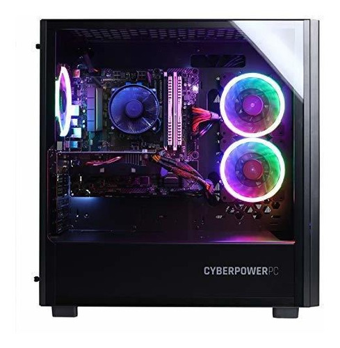 cyberpowerpc gamer master gma8200cpgv2 pc para juegos (amd r