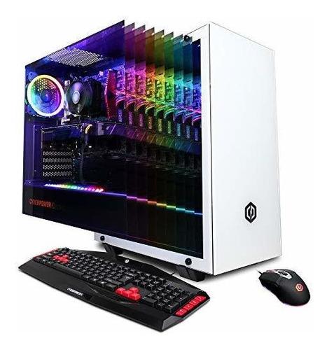 cyberpowerpc gamer master gma8600cpg pc para juegos (amd ryz