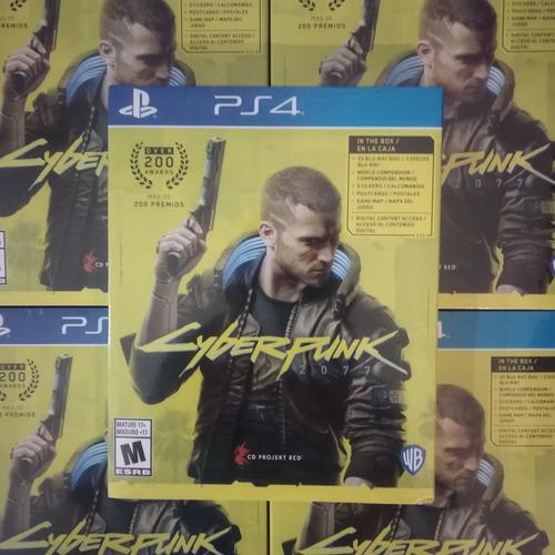 cyberpunk 2077 juego ps4 fisico sellado original sevengamer