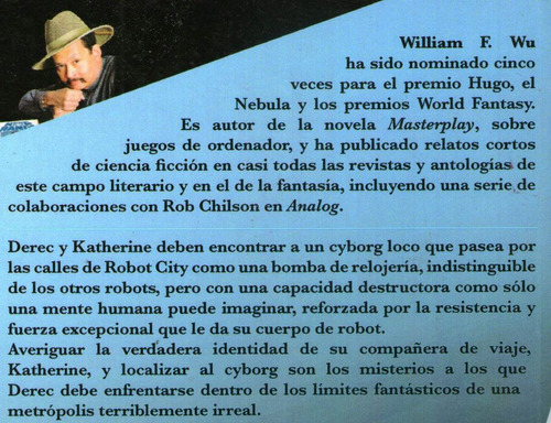 cyborg william f wu isaac asimov's robot city