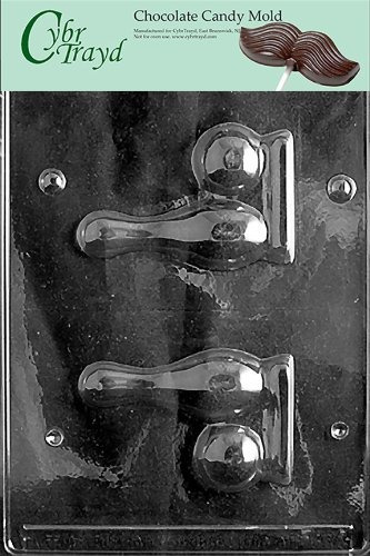 cybrtrayd s035deportes chocolate candy mold pin de bolos pa