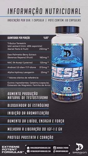 cycle reset 60 caps - dragon pharma - tpc 100% original
