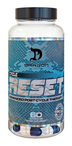 cycle reset 60 caps dragon pharma (tpc)