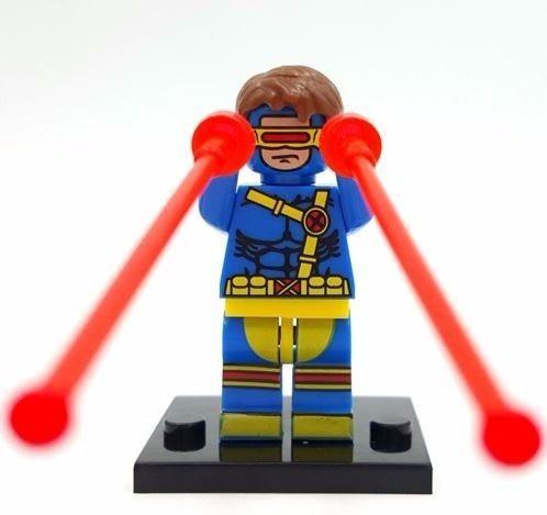 cyclops x men ciclope boneco de montar