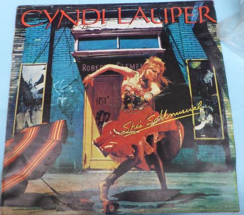 cyndi lauper she s so unusual lp popsike