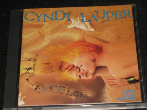 cyndi lauper  * true colors *  c d 10 tracks importado