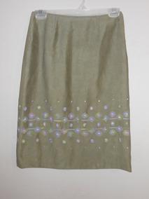 b3a2b2a19 Falda Bordada Zara - Ropa, Bolsas y Calzado Verde claro en Mercado ...