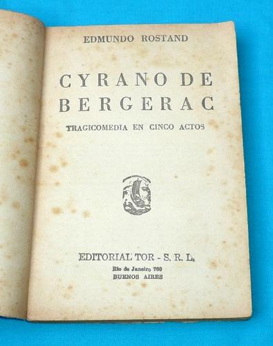 cyrano de bergerac edmundo rostand tor novela aventuras
