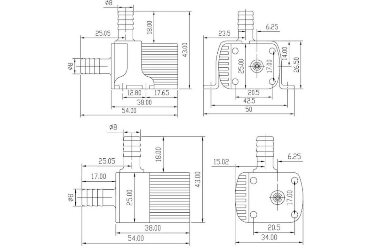 f586dd562eda5 cytec 12v pc cpu de agua de refrigeración de la herramienta. Cargando zoom.